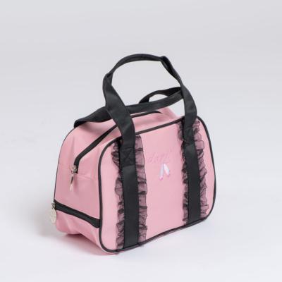 bag rosa svart