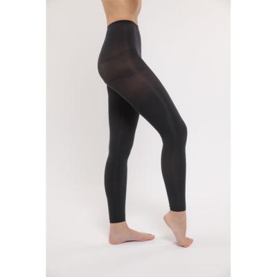 footless tights svart